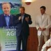Renaud Donnedieu de Vabres et Pascal Menage en campagne