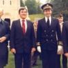 Avec le Secrétaire d'Etat à la Marine