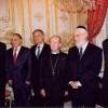 Après le 11 septembre 2001-rencontre avec les représentants des communautés religieuses de France