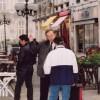 Un matin de campagne des municipales de 2001, place Jean Jaurès
