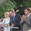 Venue de Nicolas Sarkozy à Ballan Miré